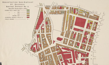 Sanitary map of Manchester