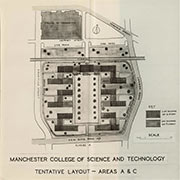 Manchester College of Design and Technology floorplan
