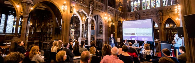 Research event at the Rylands