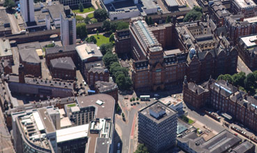 Sackville Street Building aerial view