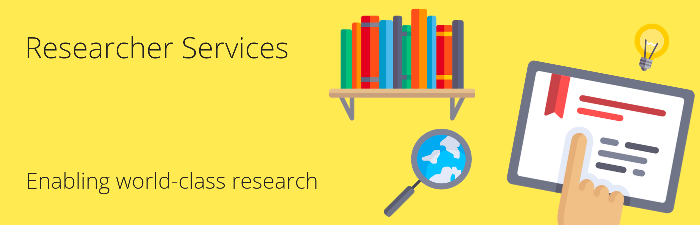 Researcher Services - Enabling world-class research